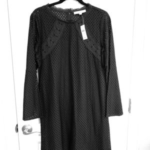 Black 3/4 Lace Dress